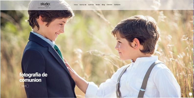 Página web Dstudio